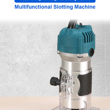 Wood Milling Trimmer Slotting-Trimming-Machine Engraving 30000rpm 800W