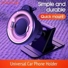 Support pour téléphone Mobile de tableau de bord de voiture HUD Design support de montage de téléphone portable de voiture antidérapant pour une conduite sûre pour les Smartphones