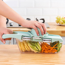 Multifunctional Vegetable Cutter Potato Onion Pineapple Manual Shred Slicer Household Kitchen Grater Fruit and Vegetable Tools