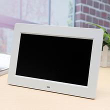 цена на 10inch 16/9 HD LCD Calendar Alarm Clock Digital Photo Frame + Remote Control