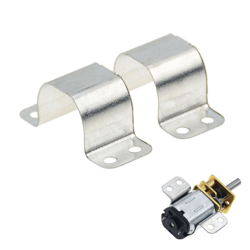 5pcs/lot N20 N30 Motor Iron Bracket Micro Motor Fixed Mounting Bracket For Toy Car Accessories Model Aircraft