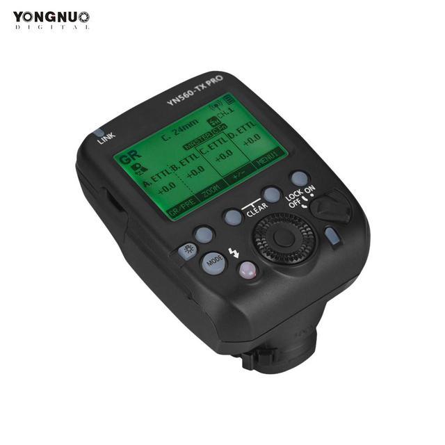 Yongnuo transmissor sem fio do gatilho flash da câmera profissional 2.4g para câmera canon dslr yn862/yn968/yn200/yn560 speedlite