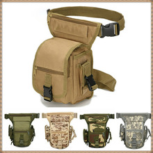 Drop-Leg-Bag Ride-Accessories Molle-Leg-Pouch Hiking-Cycling-Bag Army Hunting Tactical