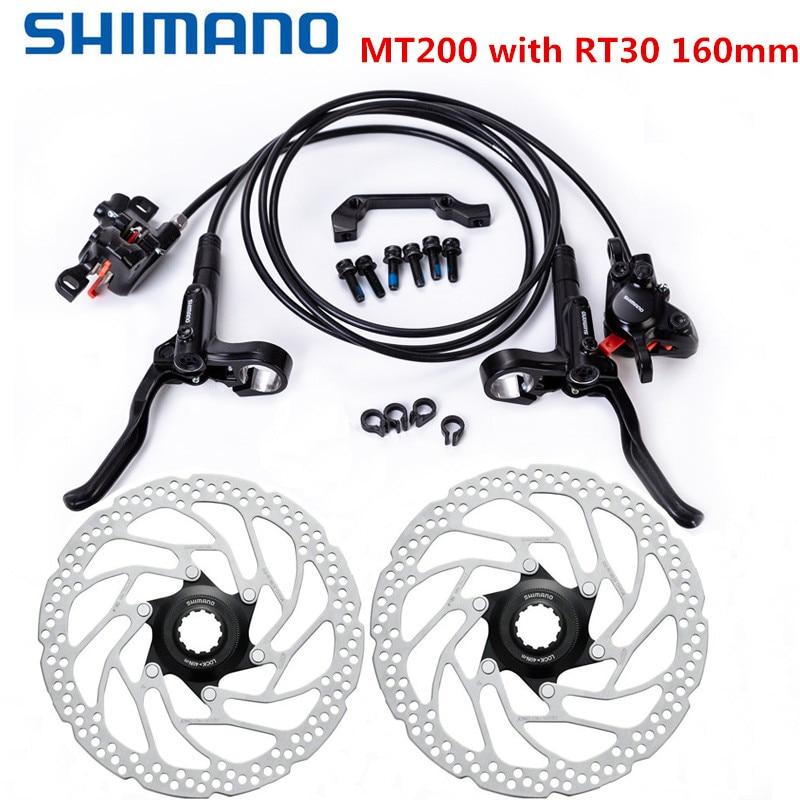 Shimano MT200 Brake bicycle bike mtb Hydraulic Disc Brake Set clamp mountain