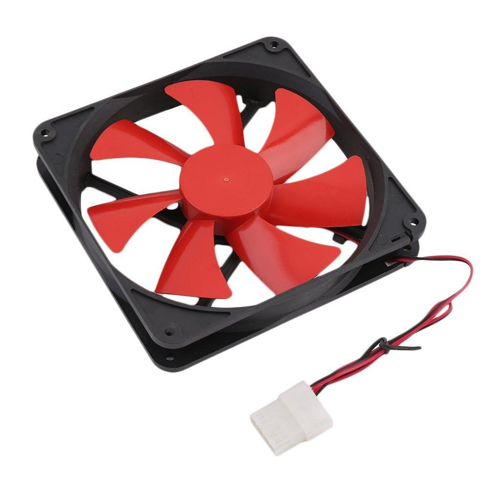 New 140MM Universal PC Computer Cooling Case Fan Popular Durable CPU Cooler Durable Cooling Fan PC Cooling Fan