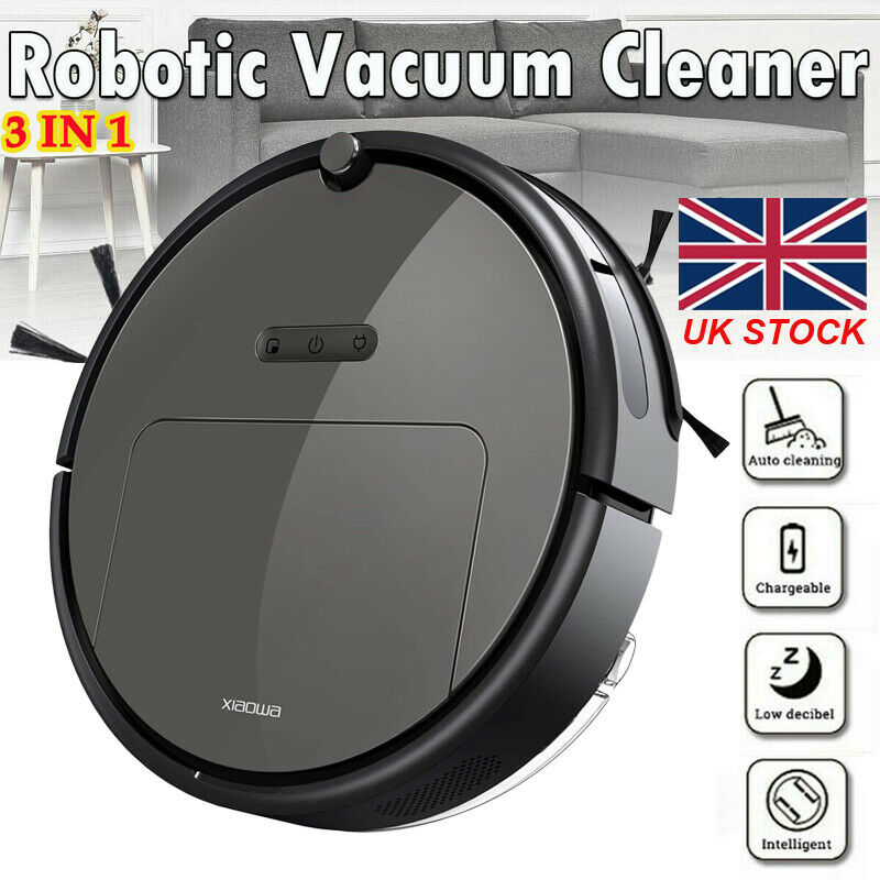 3 In 1 Smart Robot Vacuum Cleaner Home Office Sweeping Robot Sweep Suction Drag Machine 1800Pa Wet Dry Vacuum Cleaner Sweeping