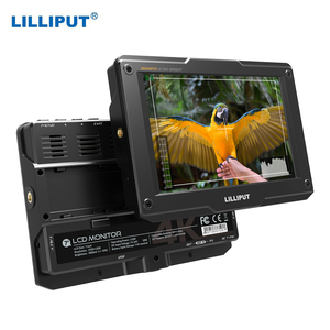 LILLIPUT H7S 7 Inch 4K On-Camera Monitor Full HD Resolution 1800nit Sunlight Input Output HDR for Taking Photo Creating Movies