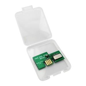 Новый SD2SP2 картенлеер USB-Micro SD карта TF адаптер для NGC игровой куб последовательный порт 2 игровые аксессуары