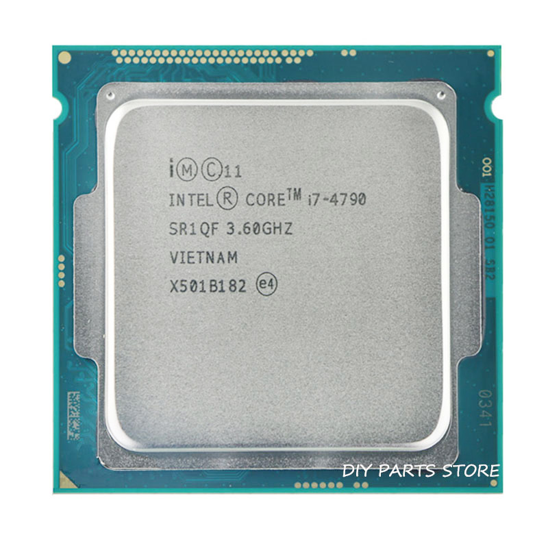 Intel Corei7 4790 I7 4790 LGA 1150 I7 Processor  3.6GHz Quad-Core  8MB RAM DDR3-1600 DDR3-1333 HD4600