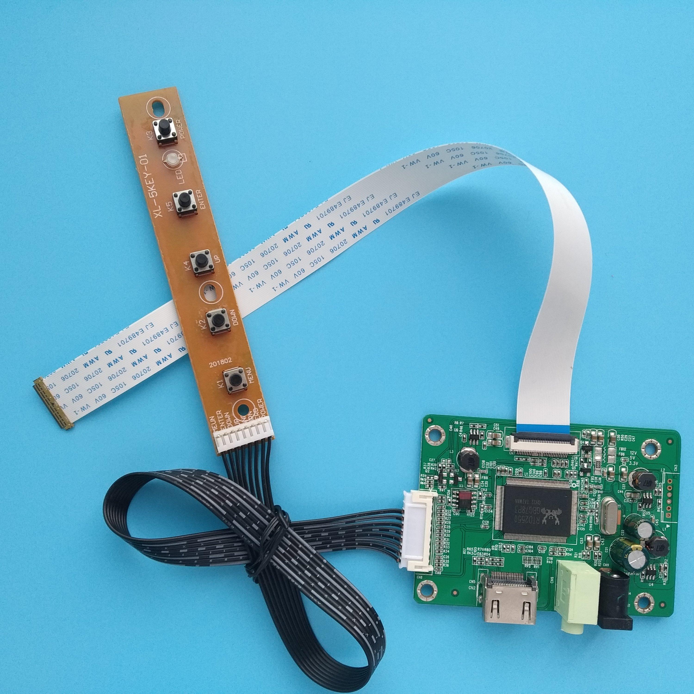 "for LP171WP4 LP171W01 A4 17.1/"" Controller Board HDMI+VGA+DVI+Audio+Earphone"