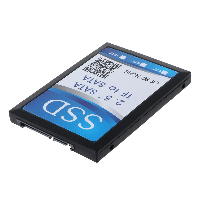 4 Micro SD To SATA 2.5 Inch Homemade TF To SATA SSD Solid State Drive Group RAID Adapter Converter Card