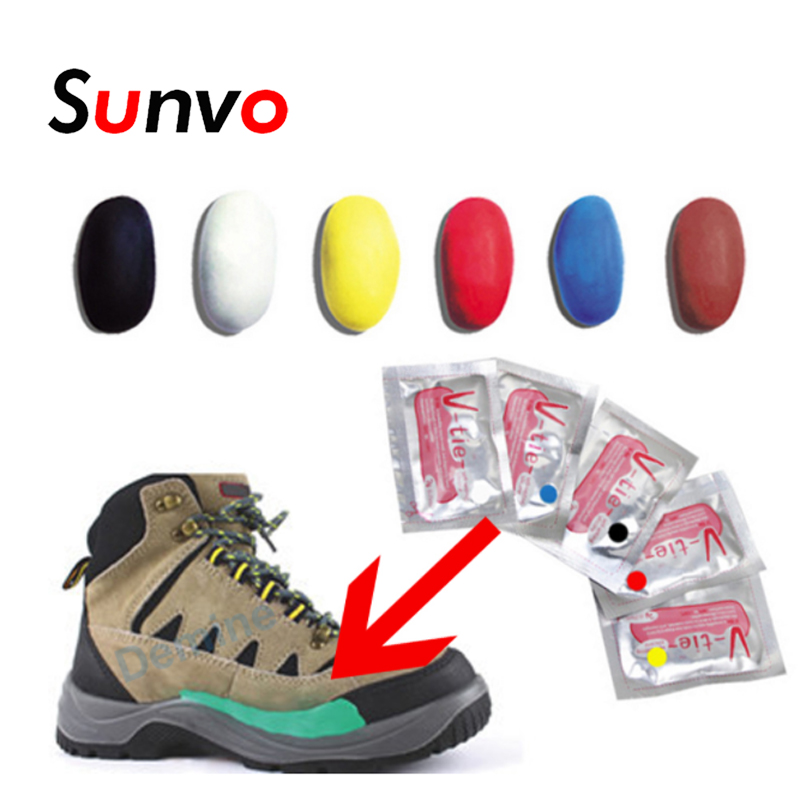 Sunvo Practical Moldable Glue Mud For Repairing Sticking Decoration Multifunctional Creative DIY Silicone Mud Shoes Care Tool