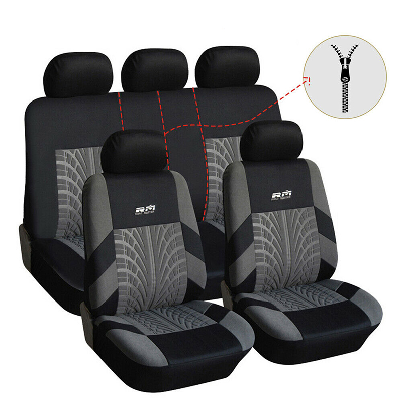Car Seat Cover Universal Auto Seat Protector Car Accessories for Peugeot 301 307 308 508 2008 <font><b>4007</b></font> 4008 508 Sw image