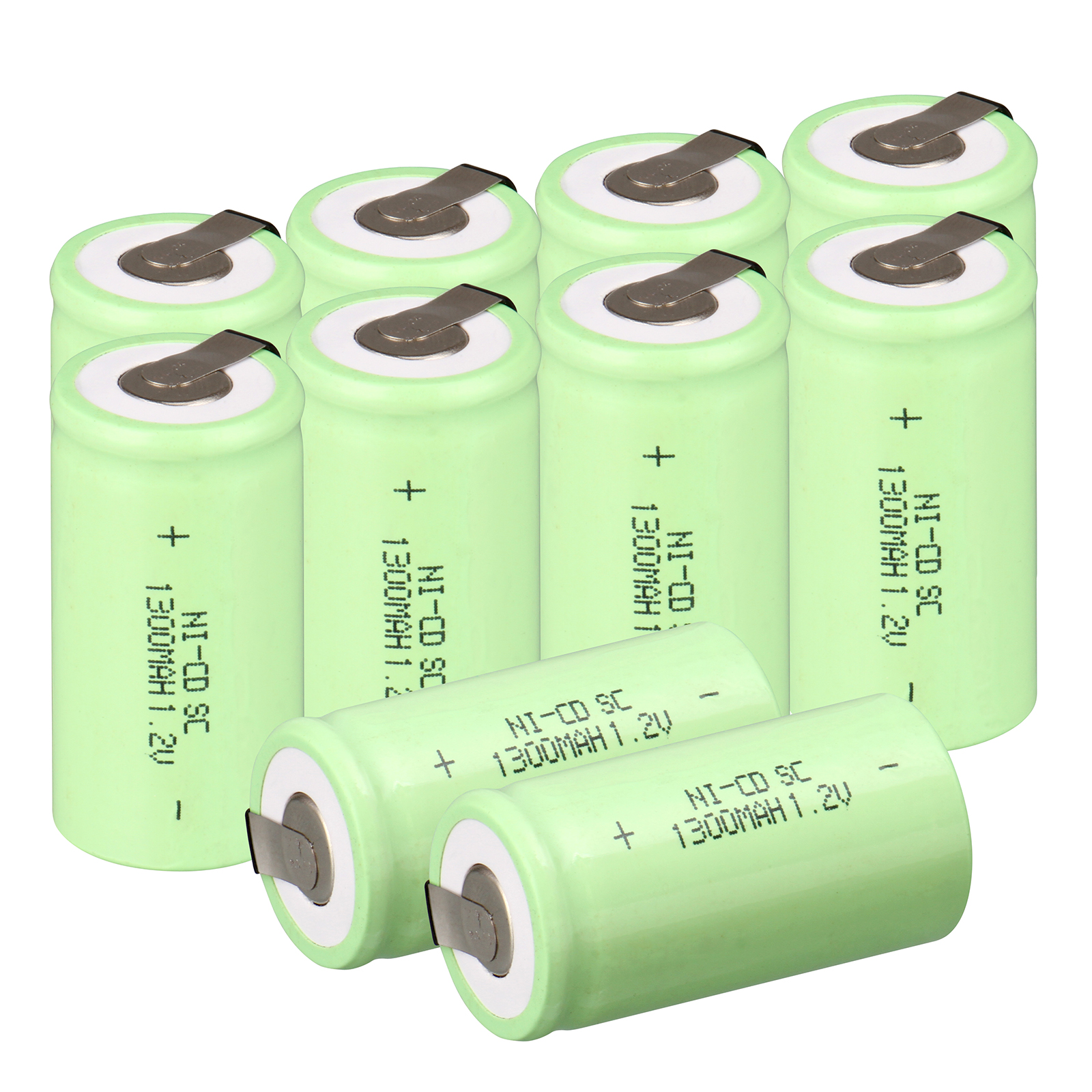 10pcs 1300mAh SC battery <font><b>ni</b></font> <font><b>cd</b></font> <font><b>1.2</b></font> <font><b>v</b></font> battery nicd 1.2v battery <font><b>ni</b></font>-<font><b>cd</b></font> rechargeable batteries image
