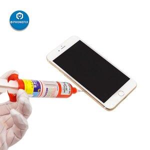 Image 5 - Mecânico TP 2500 10ML UV Cola LOCA UV Cola Líquida Optical Adhesive Cola para samsung iphone huawei vidro Da tela lcd reparação lente