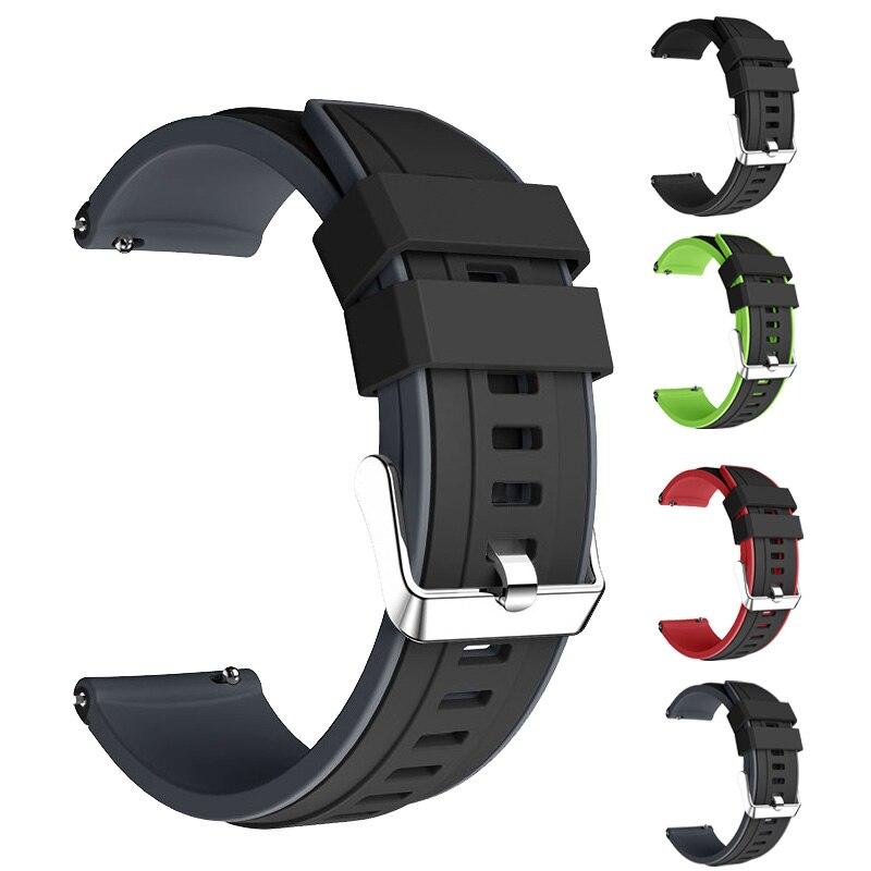Watchband for Huami Amazfit Pace / Amazfit Stratos 2 2S 3 / Amazfit GTR 47mm smart watch Accessories 22mm Bracelet strap band