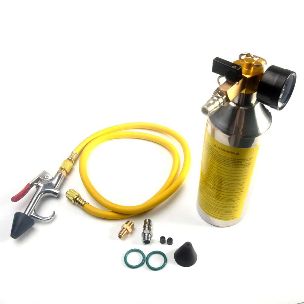 Auto réparation climatisation nettoyant lavage Anti-Corrosion outil A/C voiture tuyau chasse cartouche bouteille évaporateur résistant à l'usure #819