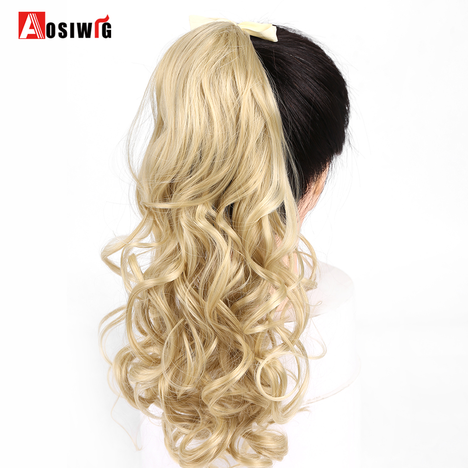AOSIWIG 7 Colors For Women Hairpiece 22