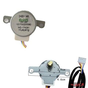 24BYJ48 12V DC klimatyzacja powiesić huśtawka synchroniczny silnik krokowy wiatr (długość drutu abput 60CM)