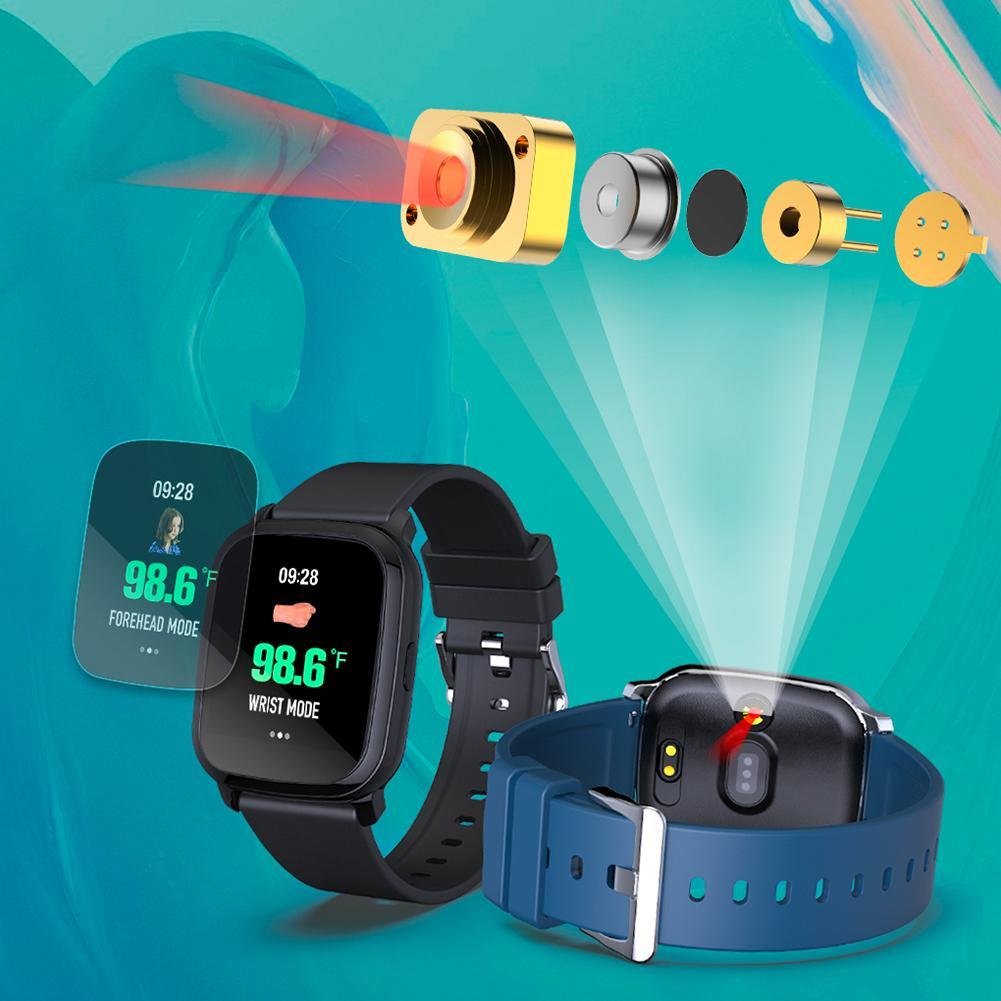 touch, medição de temperatura corporal, monitor cardíaco,