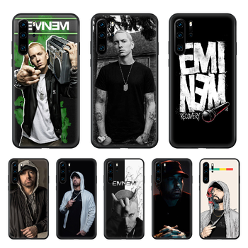 Eminem 8 Mile Rap God Phone Case cover For huawei p 8 9 10 20 30 40 P pro Smart 2019 Z lite mini black cell cover tpu hoesjes image