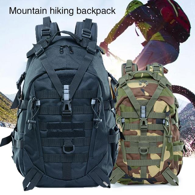 Picnic Hunting Mountaineering Backpack Cycling Bag Field Survival BL075 25L Oxford 900D Encryption Waist Tactical Backpack 5