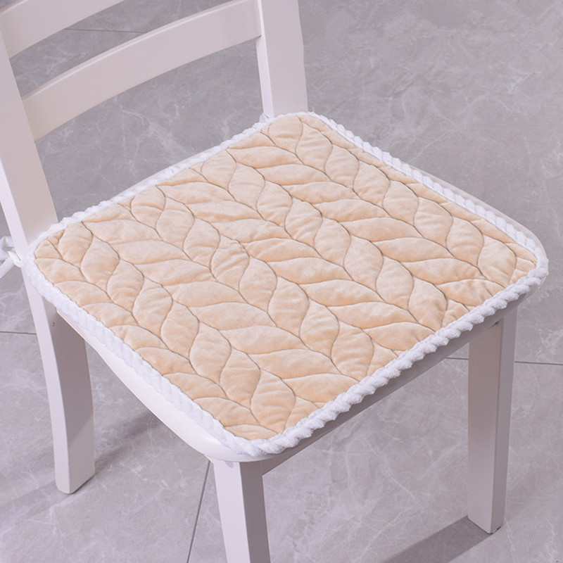 40/45/50cm Square Chair Cushion For Dinning Computer Chair Thickened Seat Cushion Warm Comfortable Seat Cushion Home Decorations