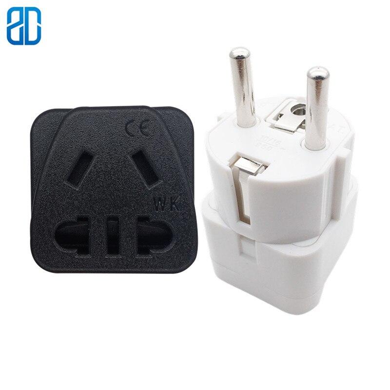 Mains 2 Way Adaptor Splitter 240v 3 Round Pin 240V 16 amp Multiple Outlet Socket