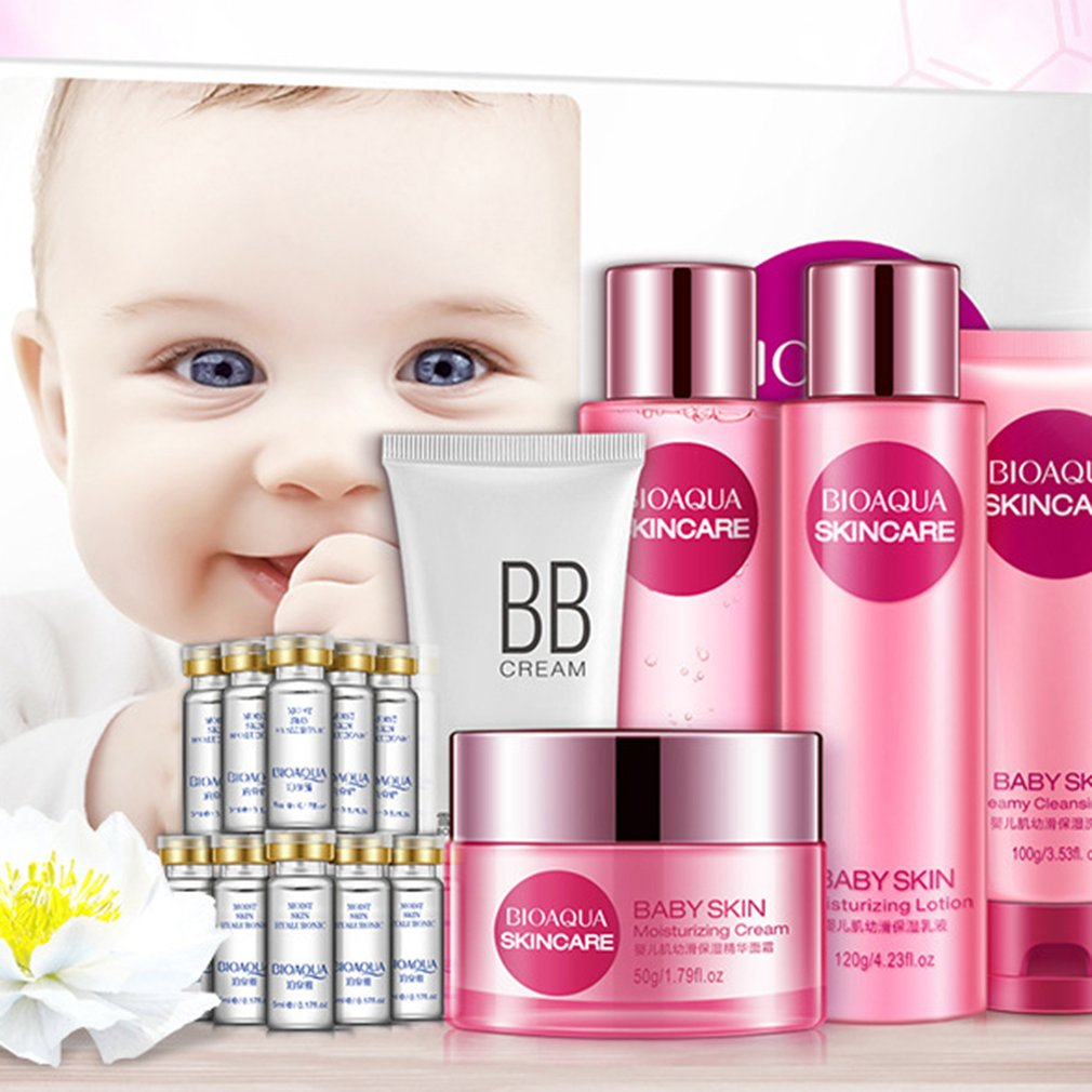 BIOAQUA Baby Muscle Skin Care Lotion Set