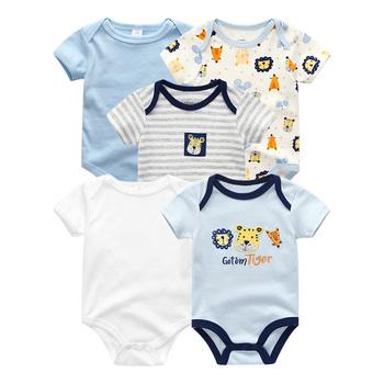 Ubrania dla dzieci kombinezony dla dzieci 6m Uniesx noworodka śpioszki dla niemowląt odzież dla niemowląt kombinezony dla niemowląt bawełna kostium dla dzieci dziewczyna i chłopcy tanie i dobre opinie Fetchmous COTTON Unisex W wieku 0-6m 7-12m 13-24m Cartoon O-neck Przycisk zadaszone Pajacyki Pełna baby romper Pasuje prawda na wymiar weź swój normalny rozmiar