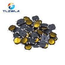 Micro interrupteur Tactile à Membrane, 100 pièces, 4x4x0.8MM, 4 broches, 4x4x0.8mm