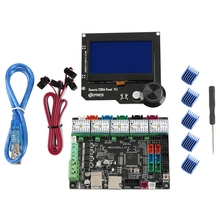 3D Printer Motherboard Mks Sgen L+Tmc2209x5 Driver+Generic 12864 Panel Rgb V1.1 Lcd Display Compatible with Ramps Marlin 3d printer parts mks pwc v2 0 finish off support for marlin smoothieware