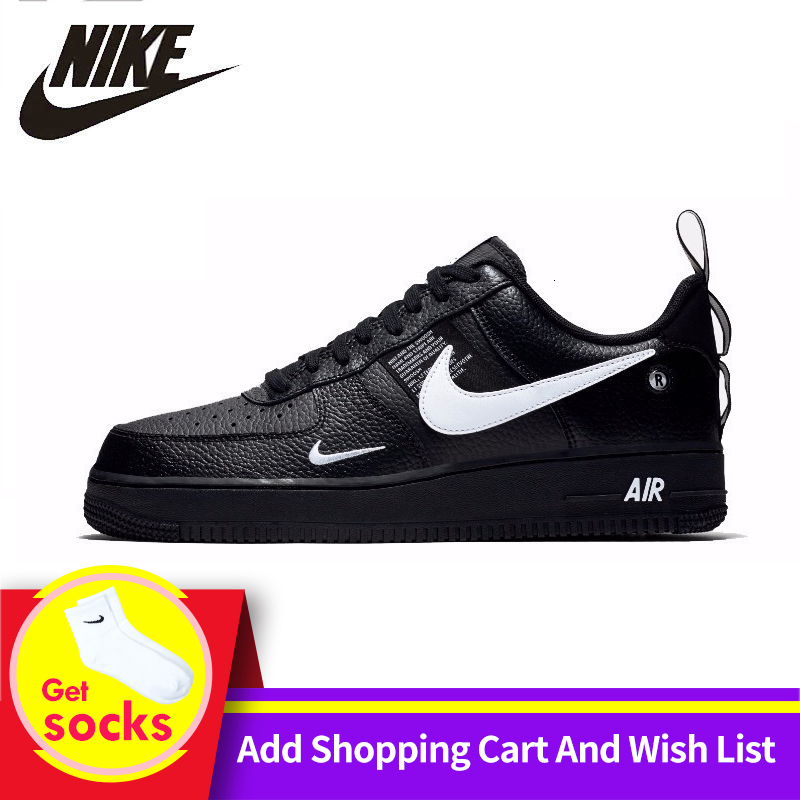 Nike original da força aérea 1 sapatos de skate feminino apoio confortável tênis esportivos para mulher # aj7747