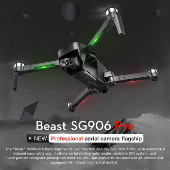 Beast SG906 PRO GPS RC Drone with 4K Camera 2-axis Gimbal 25mins Flight Time Brushless Quadcopter