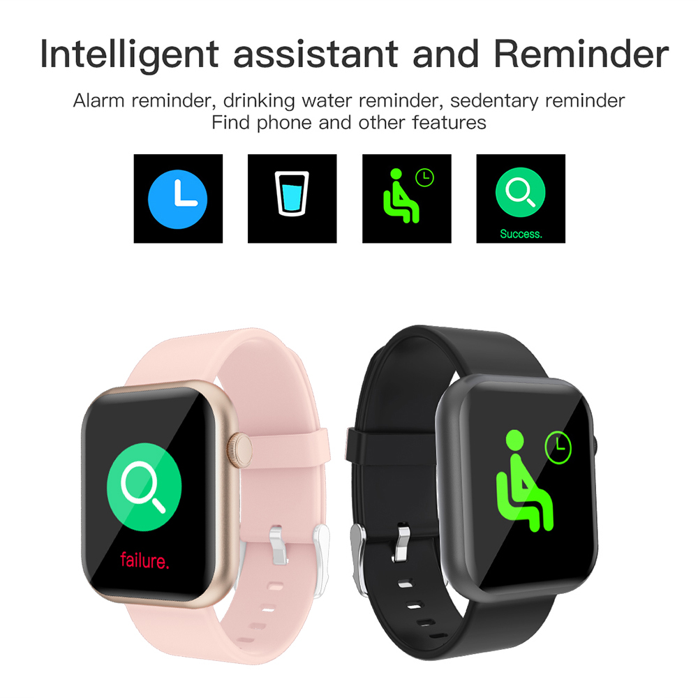 H0ddaf822334c449186f53516431fd5dao COLMI P9 Smart Watch Men Woman Full Smartwatch Built-in game IP67 waterproof Heart Rate Sleep Monitor For iOS Android phone