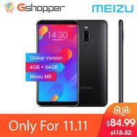 Globale Versione Meizu M8 V8 4GB 64GB di ROM Del Telefono Mobile Helio P22 Octa Core 5.7 Schermo Intero 12.0MP Macchina Fotografica di Impronte Digitali Smartphone