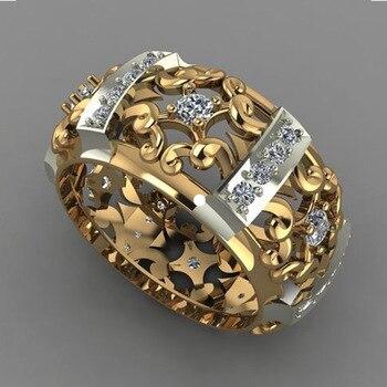 טבעת יוקרתית גולדפילד מעוצבת