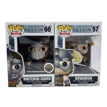 Funko Pop The Elder Scrolls DOVAHKIIN #57 WHITERUN GUARD #60 Vinyl Action Figure Dolls Toys 1