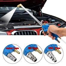 400mm ferramenta de limpeza óleo do motor carro automático pistola limpeza água ferramenta pneumática com 100cm mangueira peças de máquinas liga cuidados com o motor