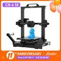 CR-6 SE набор для 3D-принтера, сенсорный экран, выравнивание, бесшумная материнская плата Mean Well, источник питания Dual Z Axie Creality 3D