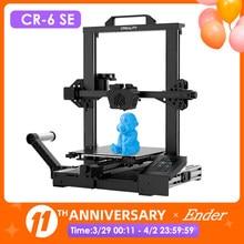 CR-6 SE 3D Drucker Kit Touchscreen Nivellierung Stille Mainboard Mean Well Netzteil Dual Z Axie Creality 3D