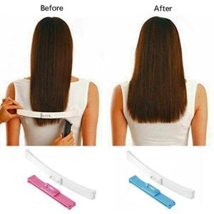 2Pcs/Set Hair Cutting Kit Clip Trim Bang Cut Home Trimmer Clipper Diy Hairstyling Tool Professional Hair Cutting Tools(Pink) Pin