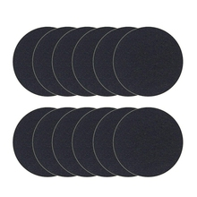 12 Pack Charcoal Filters For Kitchen Compost Pail Replacement Filter Countertop Home Bucket Refill Sets, Round