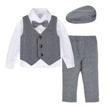 Blazer Outfit Tuxedo Formal-Suit Wedding-Birthday-Gift Toddler Baby Gentleman Winter