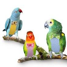 Pet Bird пеленки одежда регулируемый Cockatiel Летающий костюм пеленки одежда пилота Милый Бант дизайн поводок ручной работы Одежда с птицами