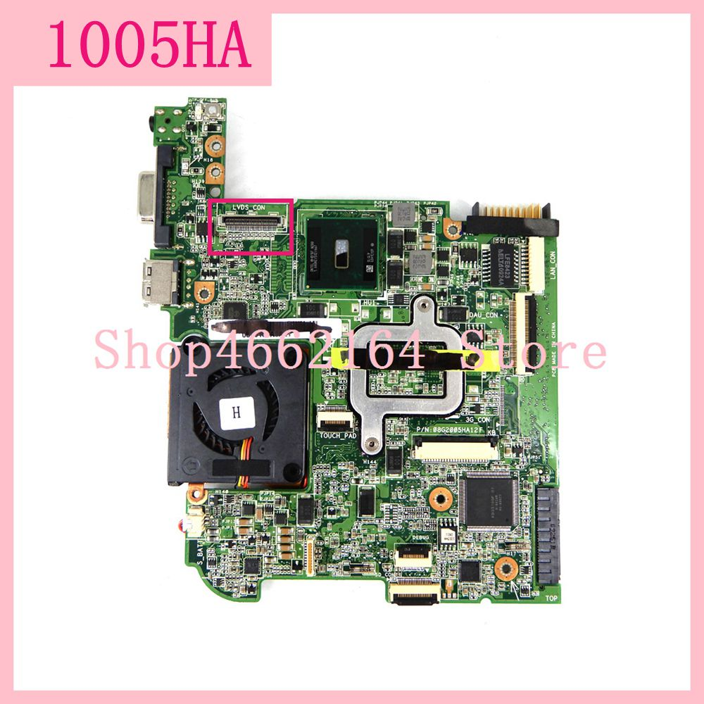 1005HA Motherboard  For ASUS Eee PC 1005HA Laptop motherboard 1005HA Mainboard Tested Working fully tested free shipping