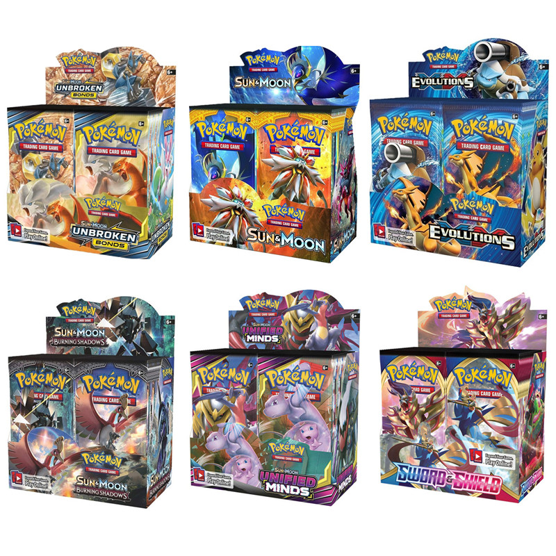 324pcs Pokemon Cards Holder Album Album Toys Collections Cards  Top Popular Children Battle Game Card Child Toy Gifts