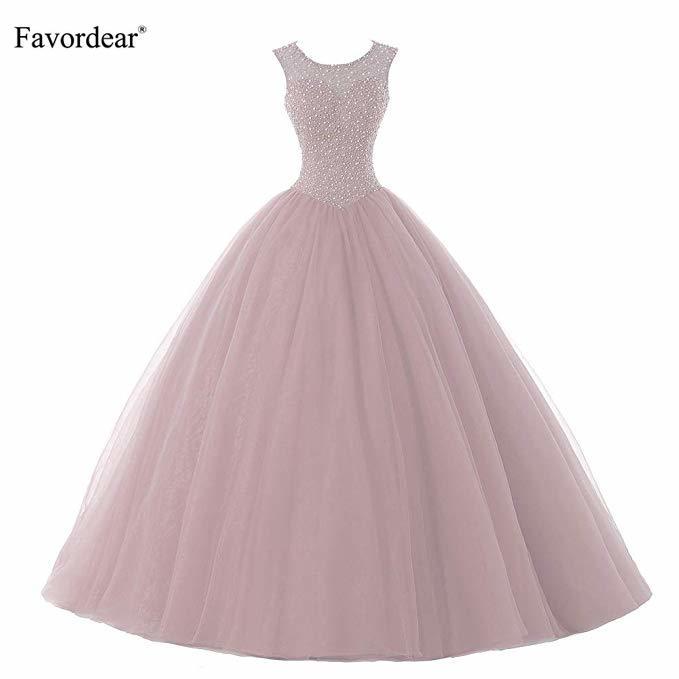 Favordear Vestido De 15 Anos бордовое, лавандовое, blushбирюзовое платье с бисером бальное платье милое 15 нарядное платье с открытой спиной
