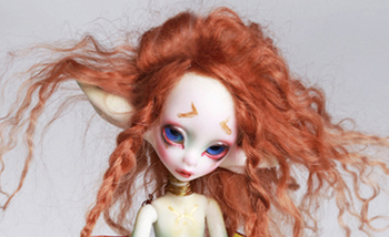 1/6 BJD Doll Special Body AQK  with Eyes For Baby Children Birthday Gift (not Include Wings )