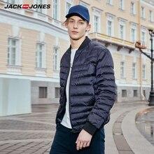 Jackjones 男性の秋の野球襟ショートジャケットスタイル 219312514
